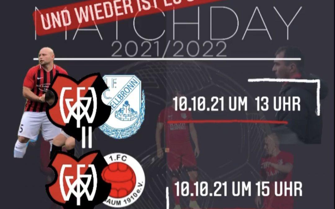 FV Wildbad 2 – 1.FC Schellbronn 2, 2:0 (2:0)